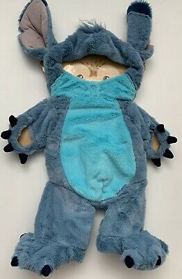 """Disney Parks STITCH Duffy Bear 17"""" Clothes Outfit Costume Hidden Mickey Plush"""
