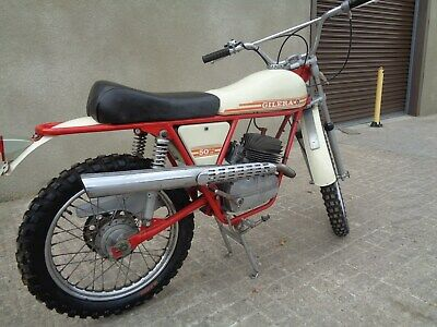 1971 Gilera 50 Trials, What A Rare And Lovely 5 Speed Machine This Is!!