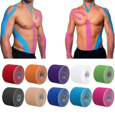 Kinesiology Tape Rolls Muscle Strain Injury Support Elastic Physio Sport Tape SI