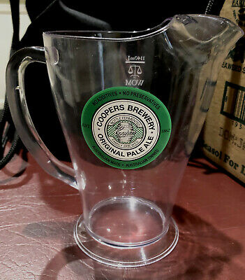 Coopers Pale Ale Beer Jug 1140ml Great for a Man Cave Bar Club Collector