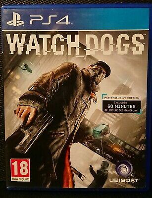Ps4 Watch Dogs Exclusive Edition - PlayStation 4 - Good Condition