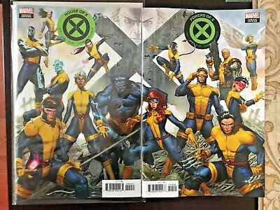House of X #4 and Powers of X #4 | Molina Connecting Variant SET HOT NM MARVEL