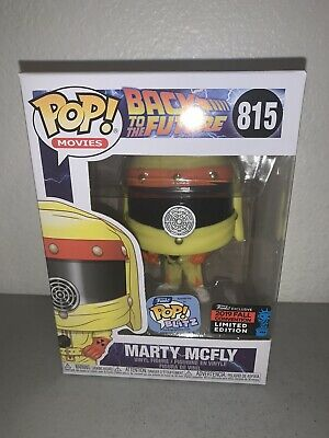 Funko Pop Marty McFly Back To The Future 2019 NYCC SHARED Exclusive + Protector