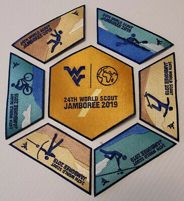 24Th World Scout Jamboree 2019 Wvu Complete Set Science Behind The Sport