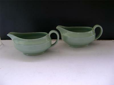 "Nice Pair Gravy/Sauce Boats in ""Beryl Ware"" by Woods."