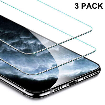 3-Pack For Apple iPhone 11/ 11 Pro / 11 Pro Max Screen Protector Tempered Glass