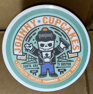 Suavecito Johnny Cupcakes Exclusive Cupcake Scented Pomade (Strong Hold)!! New!!