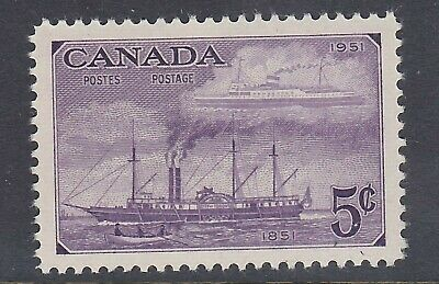 Canada No 312, Stamp Centenary, Steamships Of 1851 & 1951  Mint Nh