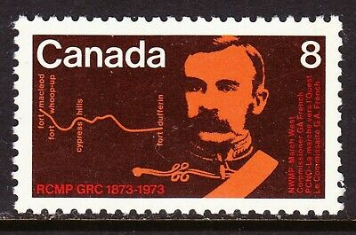 Canada No 612, Royal Canadian Mounted Police (Rcmp) Centenary, Mint Nh