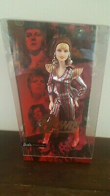 New 2019 Rare David Bowie Barbie Sold Out Beautiful Nrfb Mint