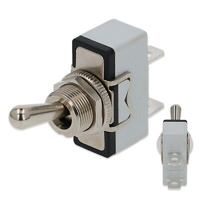 Lever Toggle Power Switch Universal On Off 2 Way Terminal 250V Mixer Blender