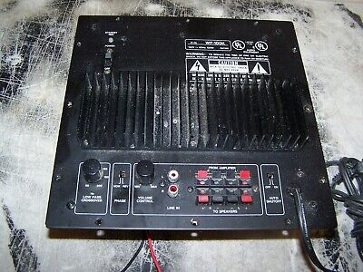 Subwoofer Plate Ampifier From Kenwood SW-300 Good Working