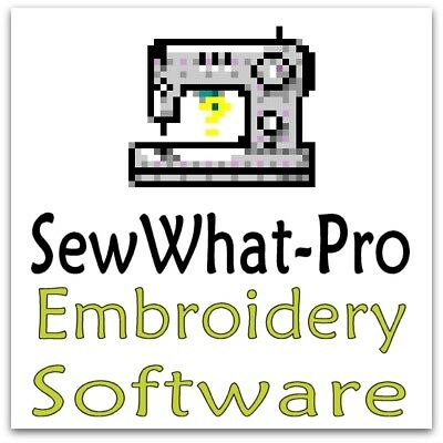 SewWhat Pro Sew What Embroidery Editor (SWP) Digitising Software WINDOWS + MAC!