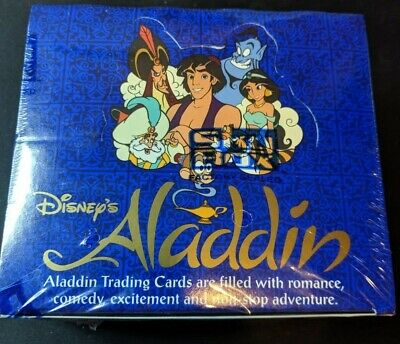 "1993 Skybox ""Aladdin"" Disney Wax Packs Unopened Sealed Box Movie Trading Cards"