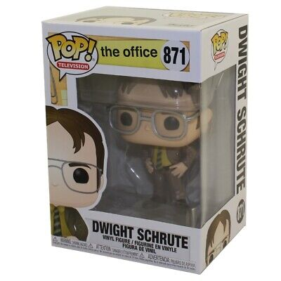 Funko POP! Television - The Office Vinyl Figure - DWIGHT SCHRUTE #871 - New