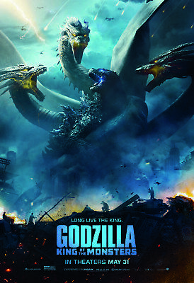 Godzilla: King of the Monsters 2019 1080p. And 3D.Original Movie