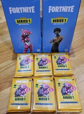 2019 PANINI FORTNITE SERIES 1 TRADING CARDS-VALUE PACK 132 CARDS (6 PACKS x 22)