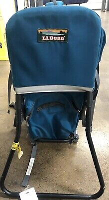 Ll Bean Kids Deluxe Child Carrier Baby Toddler Metal Frame Hiking Backpack