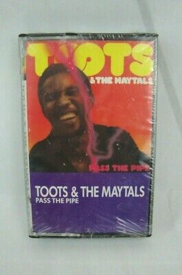 Toots & The Maytals Pass The Pipe CASSETTE TAPE Sealed 1979