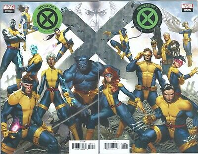 HOUSE / POWERS OF X # 4 CONNECTING VARIANT SET marvel comics FREE SHIPPING!