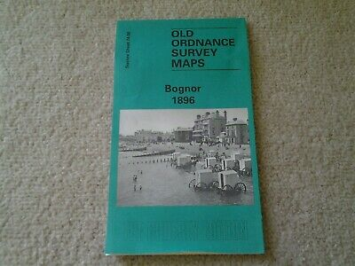 Old Ordnance Survey Map, Bognor 1896. Sussex Sheet 74.06. Godfrey edition