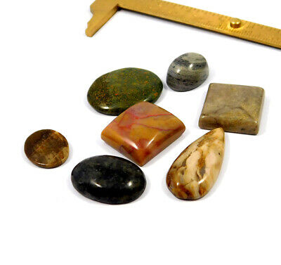 121 Cts. 100% Natural Lot Of Mix Stone Loose Cabochon Gemstone NG21142