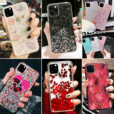 Apple iPhone 11 Pro Max Bling Glitter Case Quicksand Back Cover for Girls Woman