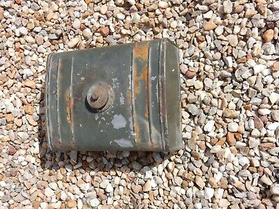 Art Deco Era Fuel Tank To Restore Upcycle  Not Tested Automobilia