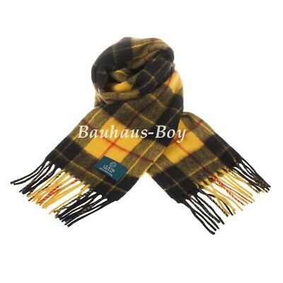 Neck Scarf Tartan Macleod Of Lewis 100% Pure New Lambswool Scottish Clan Mens