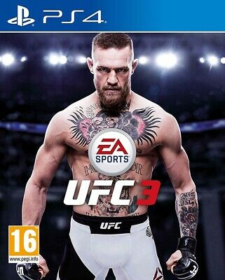 Videogioco PS4 - EA Sports UFC 3 - Sony PlayStation 4 Nuovo Sigillato Originale