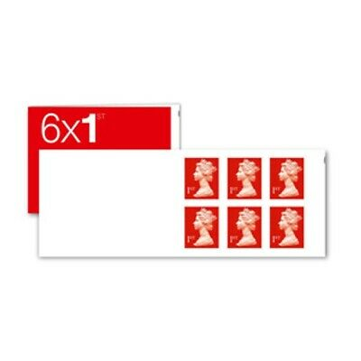 6 x First 1st Class Royal Mail stamps self adhesive brand new FREE POSTAGE