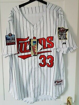 Minnesota Twins MLB Authentic Collection XL Baseball Jersey New With Tags