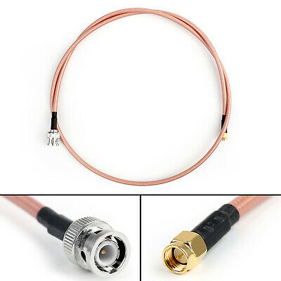 60cm RG142 BNC Male Plug to N Male Plug RF Pigtail Adapter Coaxial Cable