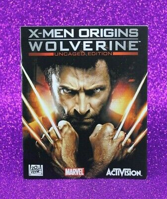 Instruction Booklet/Manual Only For X-Men Origins Wolverine Ps3 (No Game) 📮