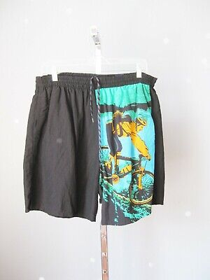 Vintage 90s Catalina Swim Trunks Mountain Bike Size Large