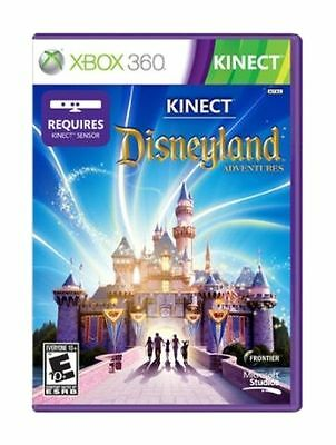 XBOX 360 Kinect Disneyland Adventures Game ~ Complete ~ Free Shipping