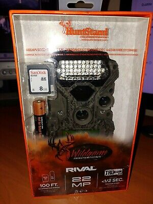 Wildgame Innovations Rival 22Mp Camera Trubark Low Glow Trail Game Camera