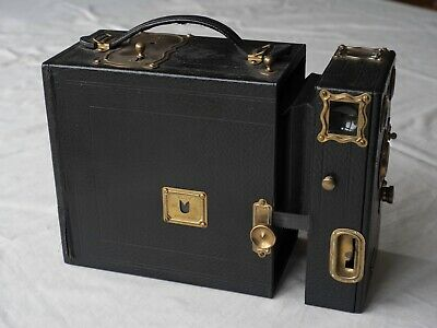 Houghton's Ensign Klito 1A Falling Plate Box Camera