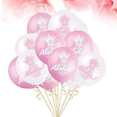 50pcs Colorful Aloha Funny Prop Balloon for Hawaii Party Festival Gathering