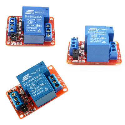 3.3V 1 Channel Relay Module Optocoupler High Low Level Adjustable Trigger BBC