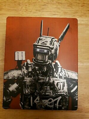 CHAPPIE Blu-Ray SteelBook 2015 TARGET EXCLUSIVE Limited Edition