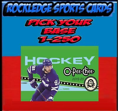 2019-20 UPPER DECK O-PEE-CHEE OPC Singles 1-250 (Pick Your Cards)