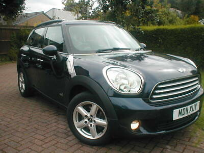 NO RESERVE 2011 BMW MINI COUNTRYMAN COOPER ALL4 1.6ltr DIESEL 4X4 LOOK DRIVE A1