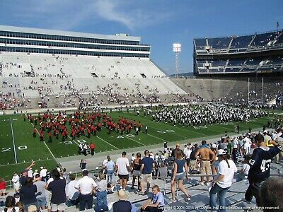 2 Penn state vs Purdue tickets Homecoming 25 yard line close to the field