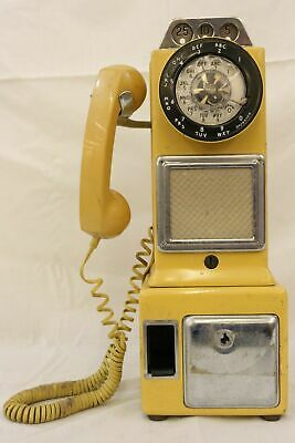 Stromberg-Carlson Automatic 3 Coin Slot Payphone w/ Coin Return  - Vintage