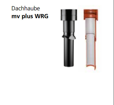 Cover Mv plus Wrg Specially for Controlled House Ventilation 160/150 160/125