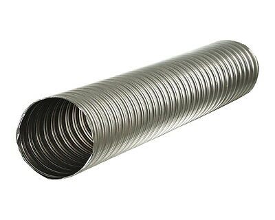 Spiral Ducts from Stainless Steel Temperature Resistance up to +800° Dn 125-150