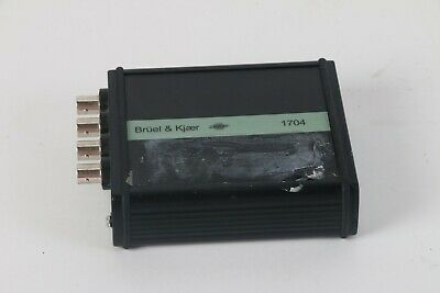 Bruel Kjaer 1704-C-102 2-Channel Microphone Conditioner and Preamp - Grade C