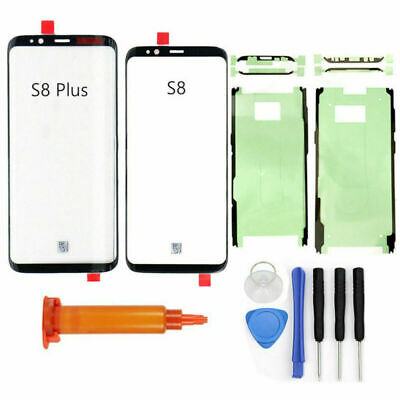Front Screen Lens Back Glass Cover Replace For Samsung Galaxy S8 G950 / S8+ G955