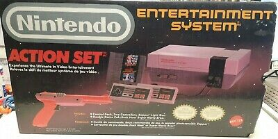 Nintendo Entertainment System NES Action Set Complete In Box